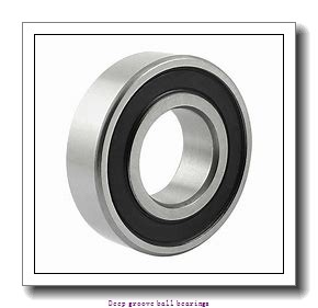 9.525 mm x 22.225 mm x 7.142 mm  skf D/W R6-2RZ Deep groove ball bearings