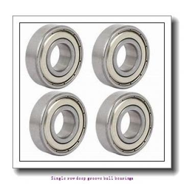 55,000 mm x 90,000 mm x 18,000 mm  NTN 6011LU Single row deep groove ball bearings