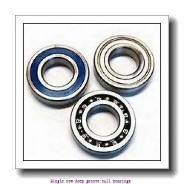 55 mm x 90 mm x 18 mm  NTN 6011NRC4 Single row deep groove ball bearings