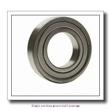 60 mm x 95 mm x 18 mm  NTN 6012LLUC3/5K Single row deep groove ball bearings