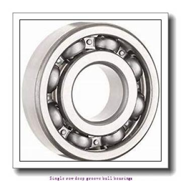 55 mm x 90 mm x 18 mm  NTN 6011LLU/5K Single row deep groove ball bearings