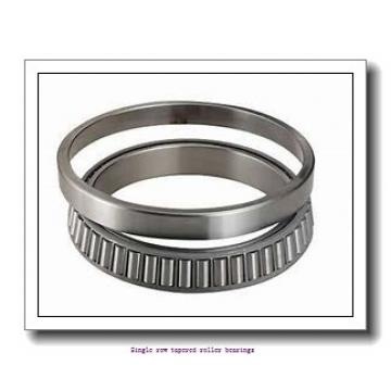 41,275 mm x 93,662 mm x 31,75 mm  NTN 4T-46162/46368 Single row tapered roller bearings