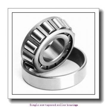 63,5 mm x 104,775 mm x 22 mm  NTN 4T-39250/39412 Single row tapered roller bearings