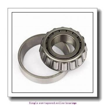 NTN 4T-342S Single row tapered roller bearings