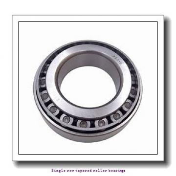 53,975 mm x 95,25 mm x 28,575 mm  NTN 4T-33895/33821 Single row tapered roller bearings