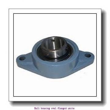 skf F2BSS 25M-YTPSS Ball bearing oval flanged units