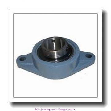 skf FYTBK 30 LD Ball bearing oval flanged units