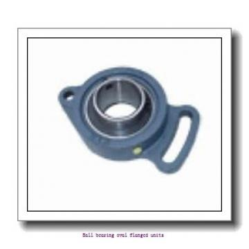 1.5000 in x 5.6563 in x 102 mm  1.5000 in x 5.6563 in x 102 mm  skf F2B 108-FM Ball bearing oval flanged units