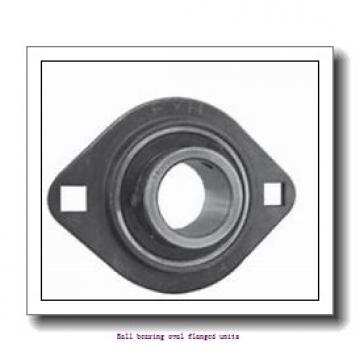 skf F2BC 35M-TPSS Ball bearing oval flanged units
