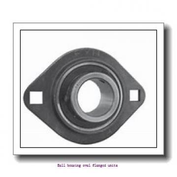 skf FYTWK 1.15/16 LTHR Ball bearing oval flanged units
