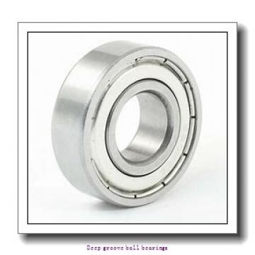 2 mm x 6 mm x 2.3 mm  skf W 619/2-2Z Deep groove ball bearings