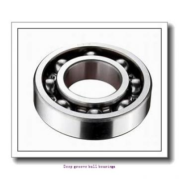 7 mm x 22 mm x 7 mm  skf W 627 Deep groove ball bearings