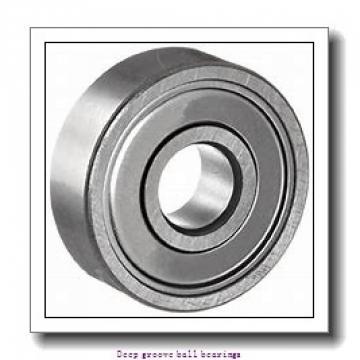 9 mm x 30 mm x 10 mm  skf W 639 Deep groove ball bearings