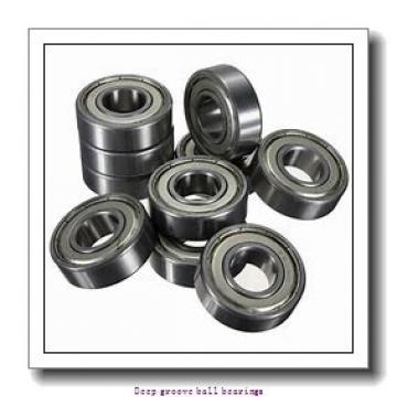 12 mm x 24 mm x 6 mm  skf W 61901 Deep groove ball bearings