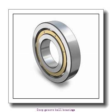 17 mm x 40 mm x 12 mm  skf W 6203 Deep groove ball bearings