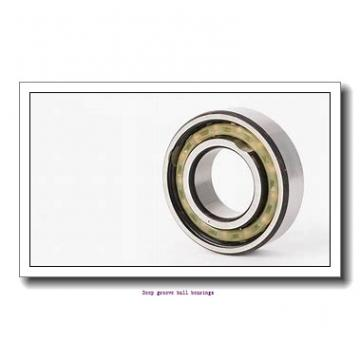 6 mm x 15 mm x 5 mm  skf W 619/6 R Deep groove ball bearings
