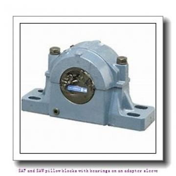 skf FSAF 1615 TLC SAF and SAW pillow blocks with bearings on an adapter sleeve