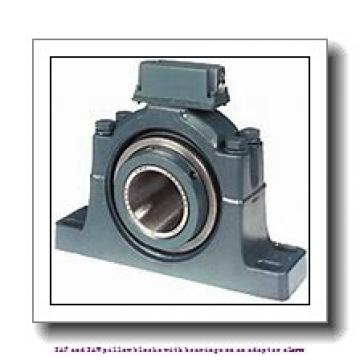 skf SAFS 22534 TLC SAF and SAW pillow blocks with bearings on an adapter sleeve