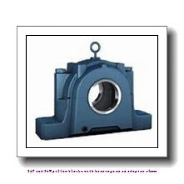 skf SSAFS 22520 x 3.3/8 SAF and SAW pillow blocks with bearings on an adapter sleeve