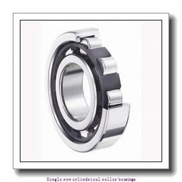 40 mm x 80 mm x 23 mm  NTN NUP2208U Single row cylindrical roller bearings