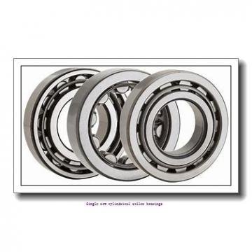50 mm x 110 mm x 40 mm  NTN NUP2310G1C3U Single row cylindrical roller bearings
