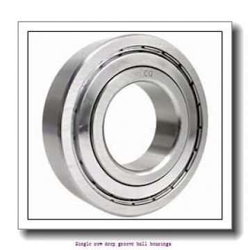 55 mm x 90 mm x 18 mm  NTN 6011 Single row deep groove ball bearings