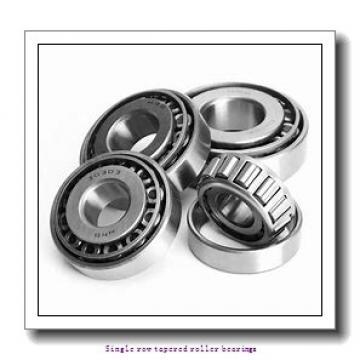 77.79 mm x 121.44 mm x 23.01 mm  NTN 4T-34307/34478 Single row tapered roller bearings