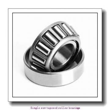 44.45 mm x 93.66 mm x 31.75 mm  NTN 4T-46176/46368 Single row tapered roller bearings