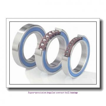 25 mm x 47 mm x 12 mm  skf S7005 CD/HCP4A Super-precision Angular contact ball bearings