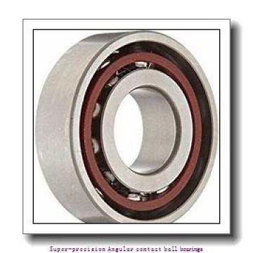 90 mm x 140 mm x 24 mm  skf 7018 CD/P4AL Super-precision Angular contact ball bearings