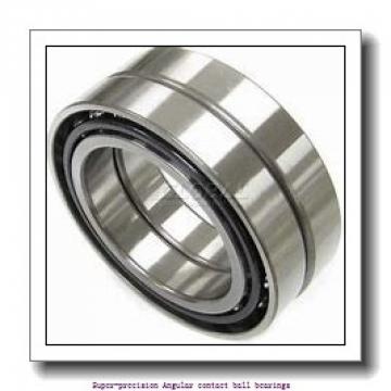 25 mm x 47 mm x 12 mm  skf 7005 CE/P4A Super-precision Angular contact ball bearings
