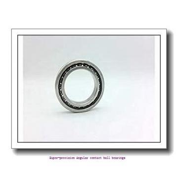 30 mm x 47 mm x 9 mm  skf 71906 CDTP/P4B Super-precision Angular contact ball bearings