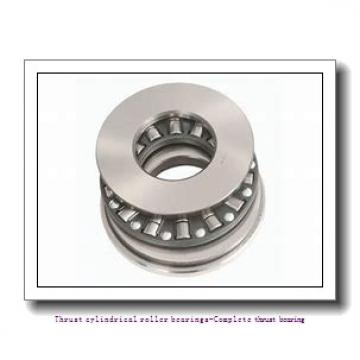 NTN 89317 Thrust cylindrical roller bearings-Complete thrust bearing