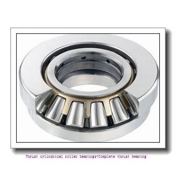 NTN 81124T2 Thrust cylindrical roller bearings-Complete thrust bearing