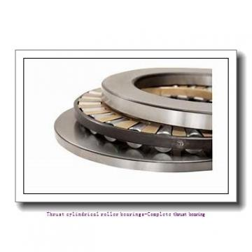 NTN 81120T2 Thrust cylindrical roller bearings-Complete thrust bearing