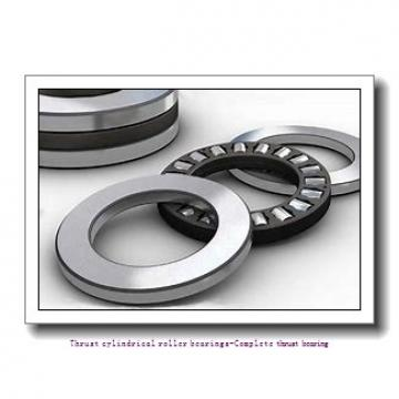 NTN 81208T2 Thrust cylindrical roller bearings-Complete thrust bearing