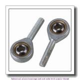 skf SALA 50 TXE-2LS Spherical plain bearings and rod ends with a male thread