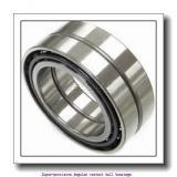 100 mm x 150 mm x 24 mm  skf 7020 CE/P4AL1 Super-precision Angular contact ball bearings